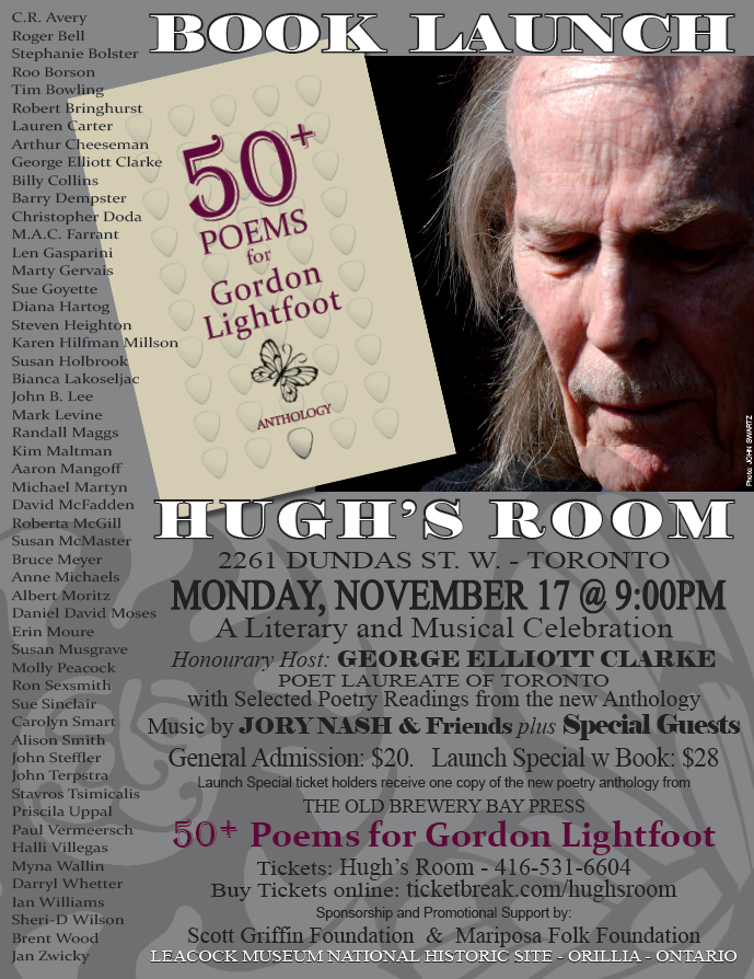 "50+ Poems for Gordon Lightfoot–includes my poem ""Canvas of Our Thoughts"""